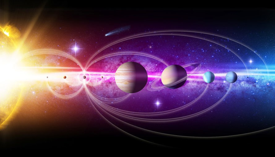 NASA, solar system, space, outer space, planets, deep space
