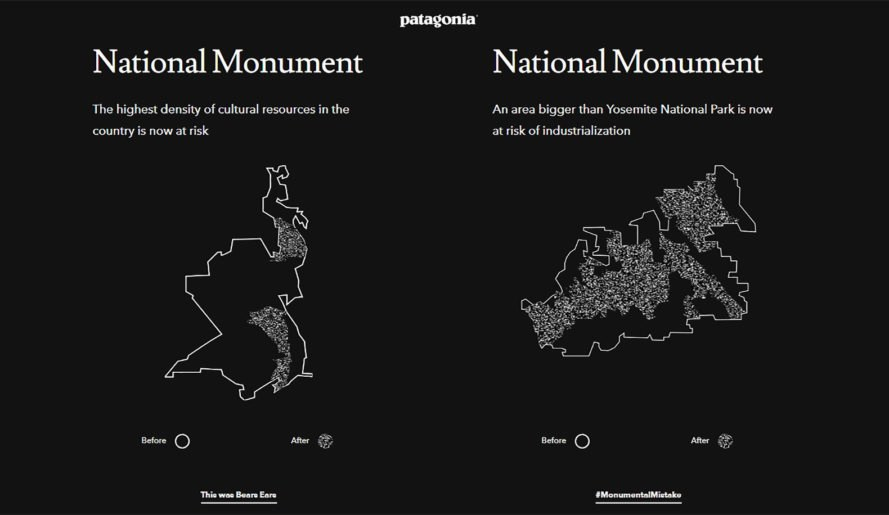 Patagonia, national monument, national monuments, Bears Ears, Grand Staircase-Escalante, public lands