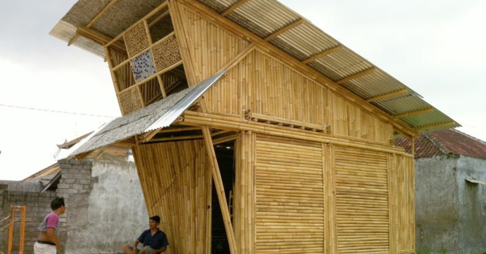 Ibuku Unveils Modular Bamboo Homes For Garbage Collectors