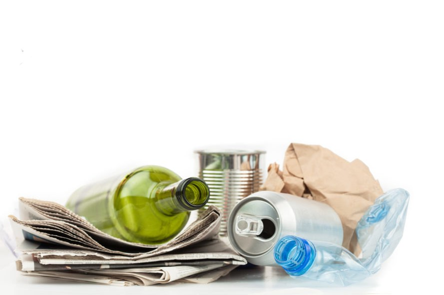 Recycling, recyclables, bottles, cans, plastic, glass, aluminum, paper