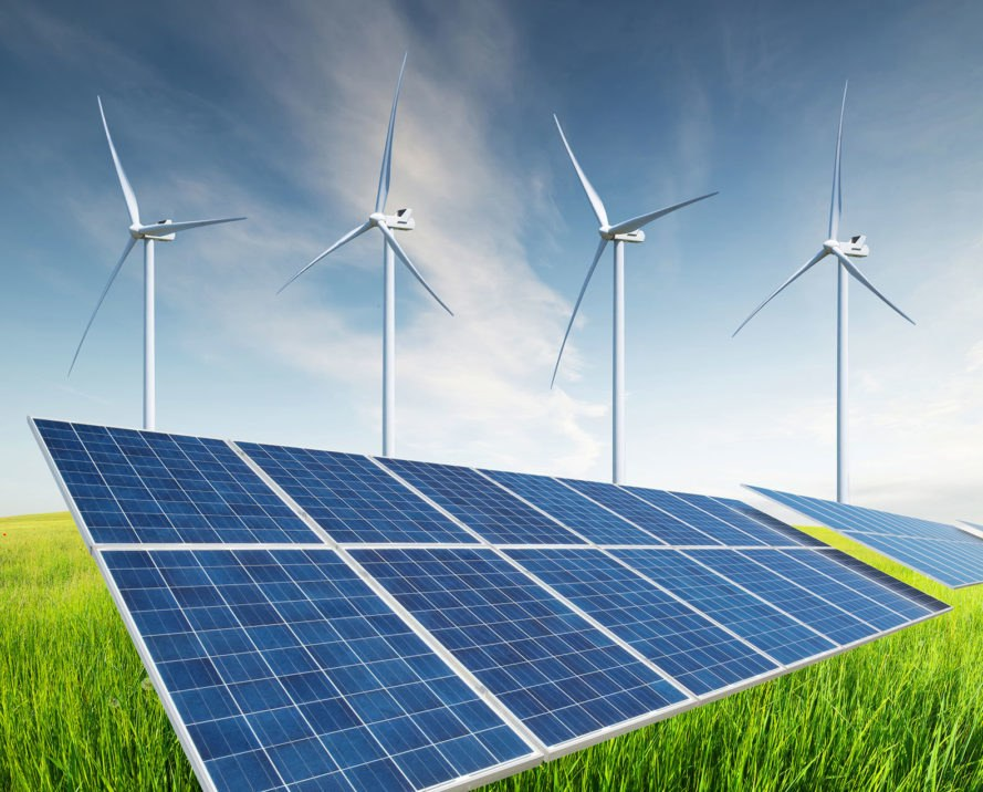 Renewable energy, solar power, solar energy, wind power, wind energy, solar panels, wind turbines, clean energy