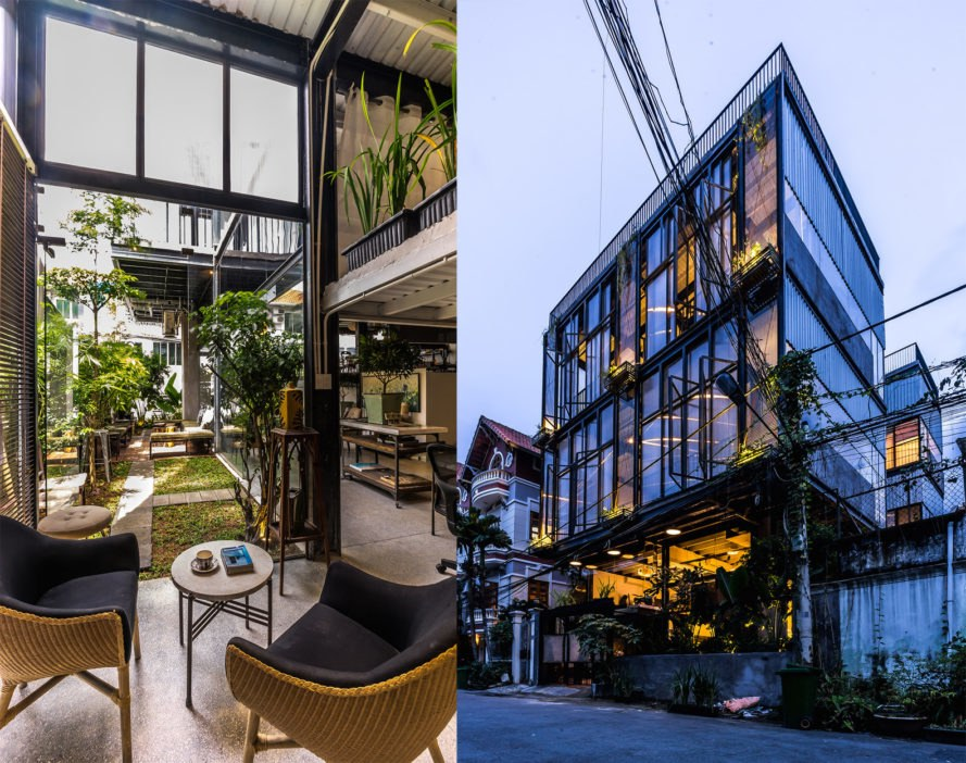 Serene House HCMC, Serene House HCMC by Module K, Serene House HCMC Thao Dien, Thao Dien architecture, prefab architecture in Ho Chi Minh City, prefab steel architecture Vietnam, Module K Vietnam, modular architecture in Vietnam