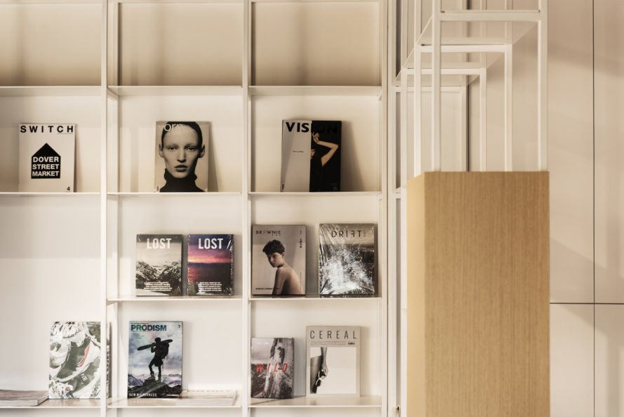 Spring Whispers Book Club by Fon Studio, Spring Whispers Book Club, adaptive reuse hutong, book club Beijing, magazine library China, magazine library China, adaptive reuse Chinese hutong, renovated hutong,