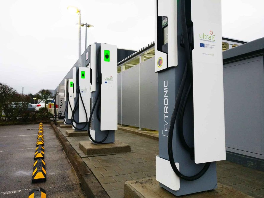 Ultra-E, EV Tronic, Germany, ultra-fast electric car charging, ultra-fast charging, EV charging, charging