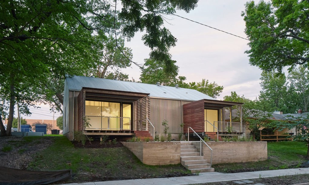Kansas state students built this charming affordable home for low income families inhabitat - Low cost homes charming ...