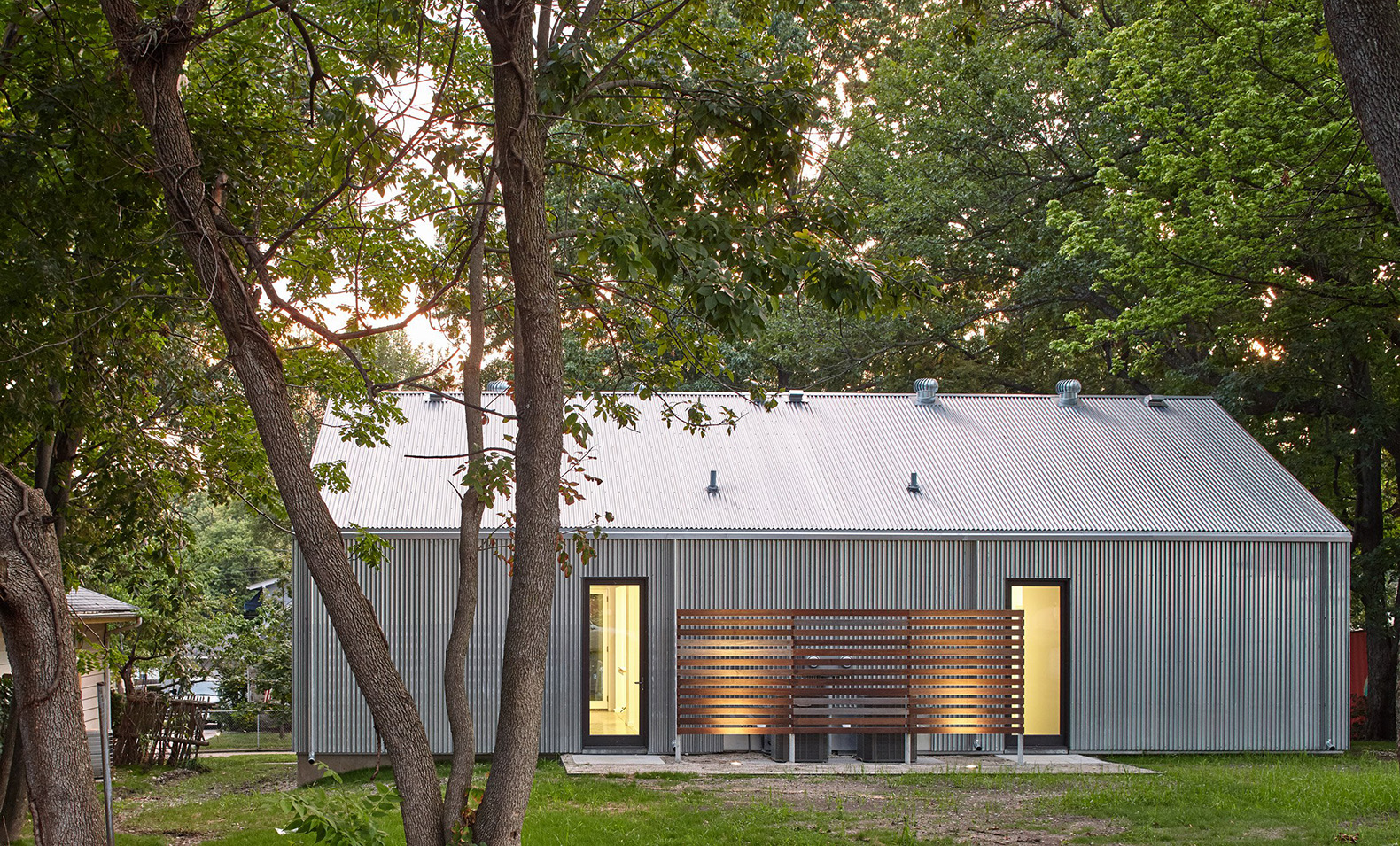cool building an affordable home. Affordable housing  duplex in Kansas City Design Make Studio El Dorado Inc State students built this charming affordable home for low