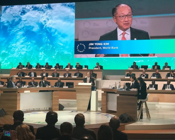 World Bank, World Bank Group, One Planet Summit, Jim Yong Kim, summit, speech