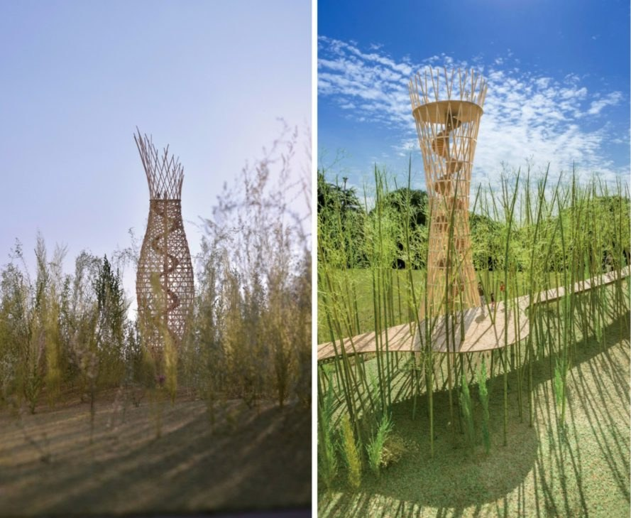 "Jae-Eun Choi, Shigeru Ban, ""Dreaming of Earth"" proposal, Korean DMZ, green bridges, bridge design, political architecture, Korean dmz bridge, 2016 Venice Biennale, political art, humanitarian architecture, social design,"