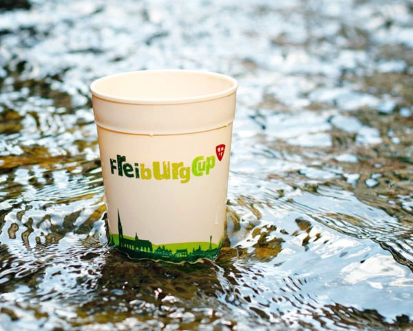 Freiburg, Germany, Freiburg Cup, reusable coffee cup, coffee cup cleaned and reused, Germany reusable coffee cup, city reusable cup program, reusable coffee cup program, sustainable coffee cup