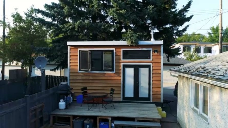 Tiny homes, tiny home design, Living Big in a Tiny House, fireman's tiny home, self built tiny homes, tiny home living, compact homes, earthship homes, compact living, tiny home on wells, Steve, the firefighter, diy tiny home, building a tiny home,