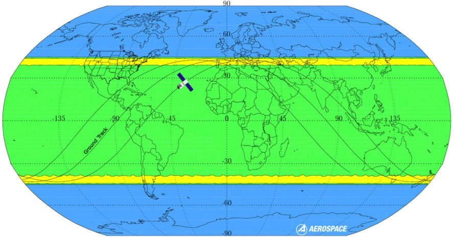 Chinese space station could plummet back to earth in march aerospace corporation tiangong 1 map world map space station china gumiabroncs Choice Image