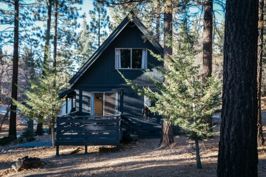 Courtney Poulos, a-frame cabin, cabin design, interior design, renovated cabin, cabin makeover california, budget makeovers, big bear california, cabin interior design, budget renovations, affordable home design, budget interior design, Vein Design