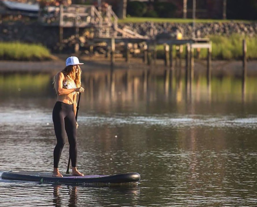 Aqua Vida, Biodegradable Flow Legging, leggings, standup paddleboarding, standup paddleboard, exercise