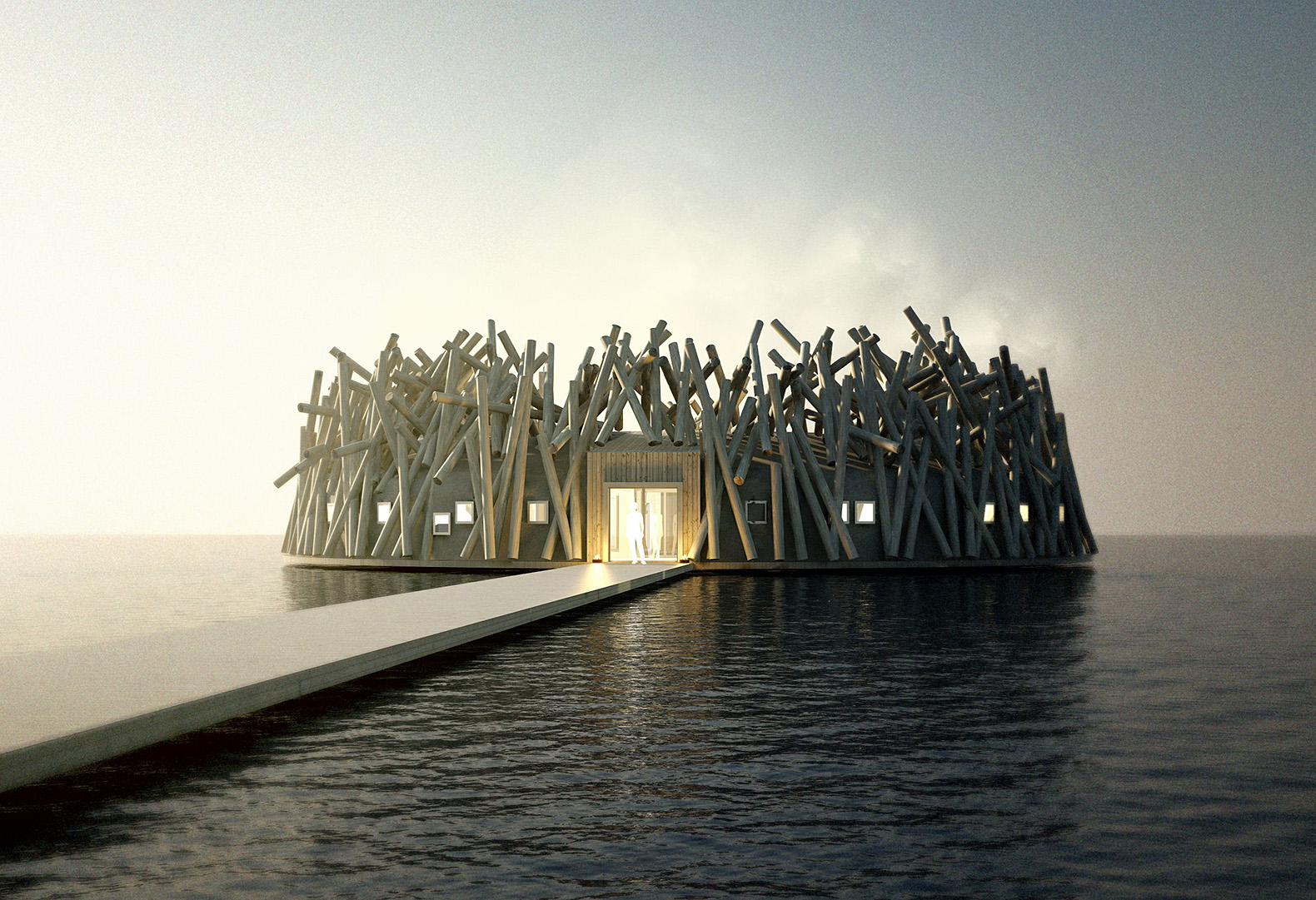 This floating hotel and spa in Sweden will fill you with wanderlust