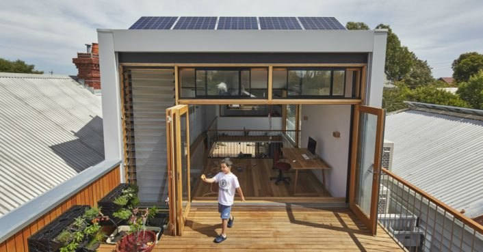 Melbourne Architects Turn An Old Terrace House Into A