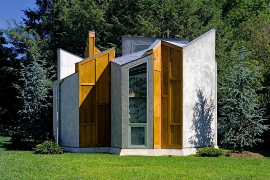 Valerie Schweitzer Architects, Butterfly studio, studio design, reclaimed wood, art studio, art studio design, studio architecture, home additions, compact living, art spaces, artful architecture, reclaimed teak wood, concrete flooring, energy efficiency
