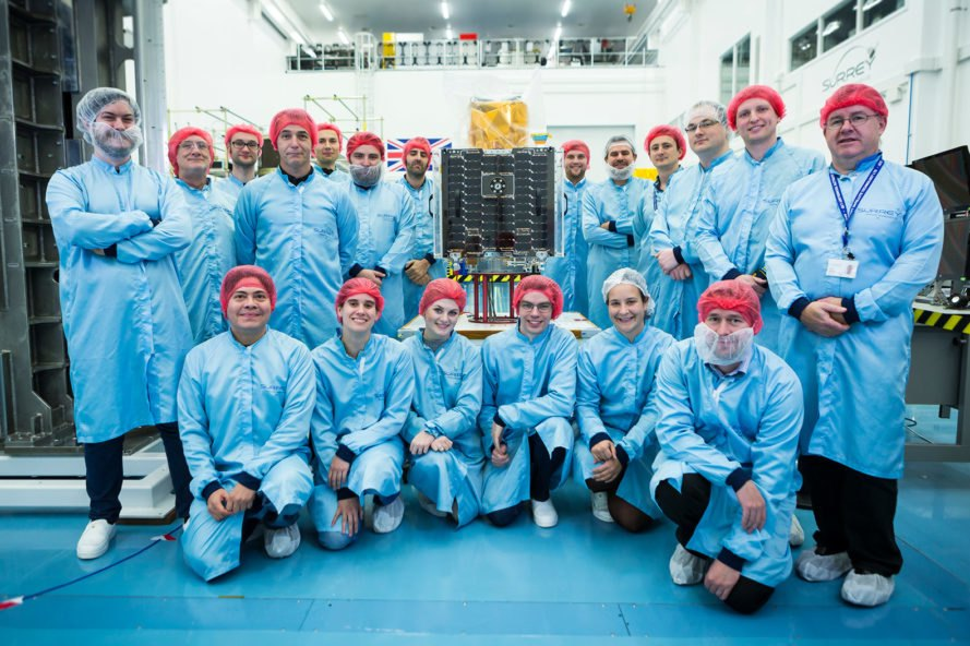 CARBONITE-2, Surrey Satellite Technology Limited, team, scientists, engineers, satellite, satellite technology, technology