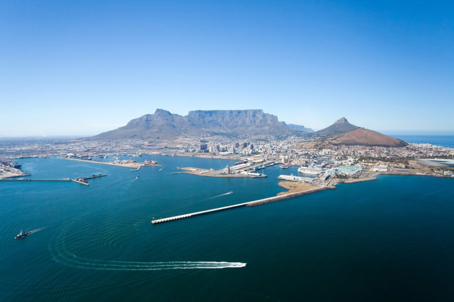 Cape Town, Table Mountain, South Africa, Africa, coast, coastal city, city