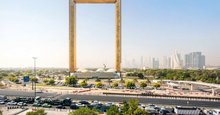 World\'s Largest Picture Frame\' opens in Dubai | Inhabitat - Green ...