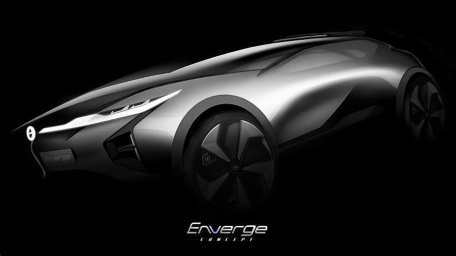 GAC Motor, Enverge, GAC Enverge, concept car, electric car, SUV
