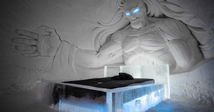 photo image Spectacular Game of Thrones ice hotel opens in Finnish Lapland
