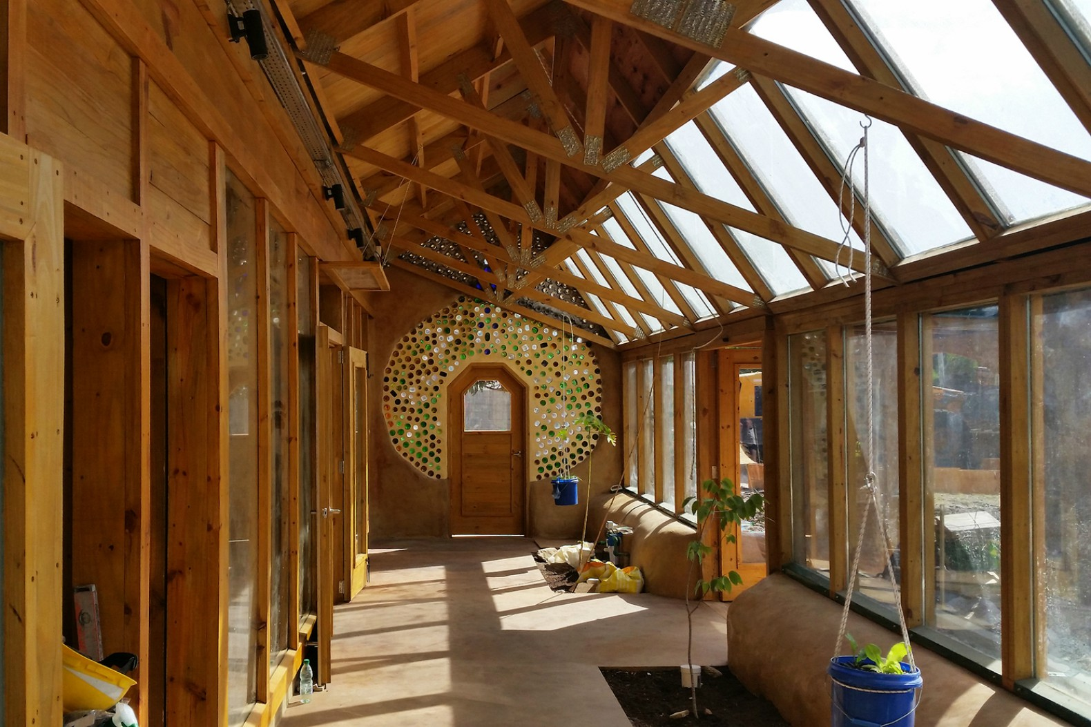 Earthship Pioneer Michael Reynolds Is Building The First