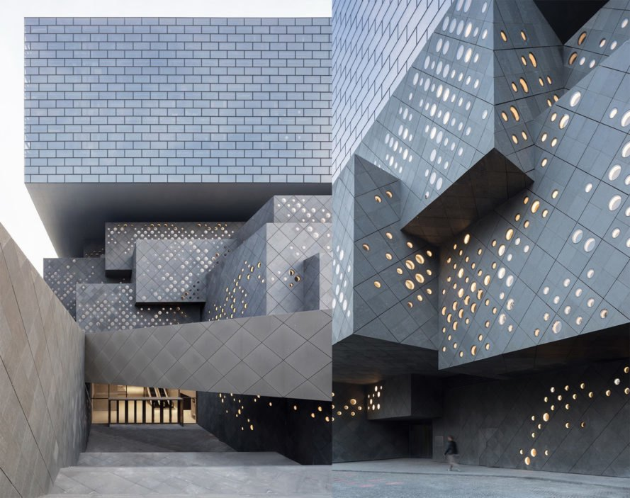 Guardian Art Center by Büro Ole Scheeren, Guardian Art Center Beijing, Guardian Art center architecture, contemporary art museum Beijing, Büro Ole Scheeren China architecture,