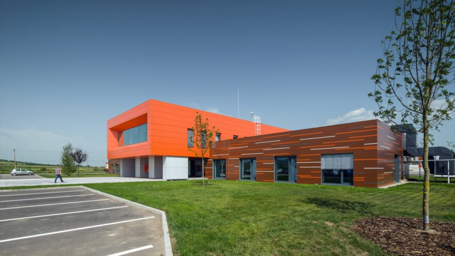 HSR timber office by Tecto, HSR Romania office, HSR Romania office in Reci, CLT office in Romania, CLT offices, prefabricated CLT building, prefab CLT office, CLT architecture in Europe, eco-friendly Romania architecture, eco-friendly Romania office