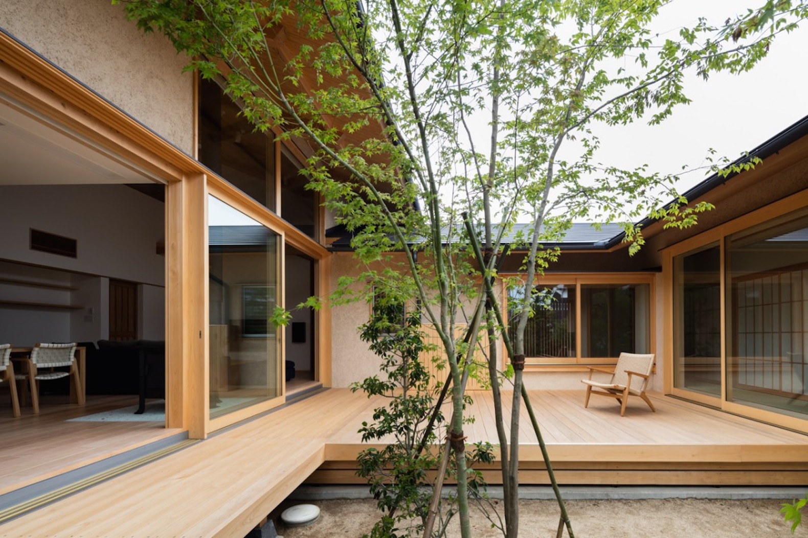 High Quality Exquisite Japanese House Wraps Around A Generations Old Tree Photo Gallery