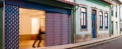 A run-down property in Portugal gets a playful renovation using a blend of colors and patterns