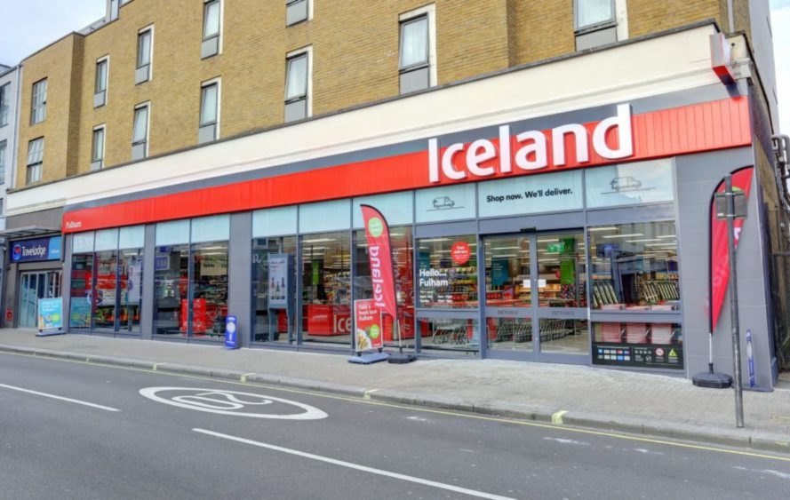 Iceland Foods, Iceland, Iceland grocery store, Iceland store Fulham