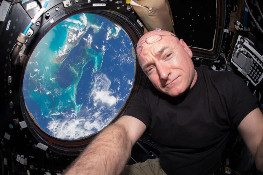 International Space Station Cupola Scott Kelly astronaut Earth space
