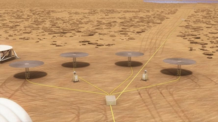 Kilopower, small nuclear reactor, nuclear reactor, nuclear power, Kilopower NASA, Kilopower on Mars, small nuclear reactor on Mars