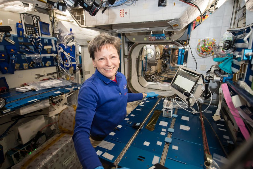 NASA, Genes in Space-3, Peggy Whitson, International Space Station, science, experiment, space