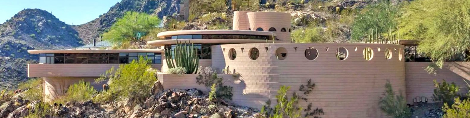 Frank Lloyd Wright, Norman Lykes House, FLW house in Phoenix, John Rattenbury, iconic house in Phoenix, modernist residence in Phoenix, Frank Lloyd Wright Foundation