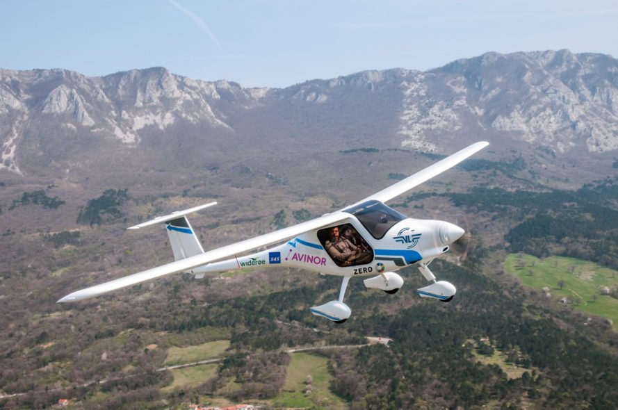 Avinor, Pipistrel, Alpha Electro G2, electric plane, electric airplane, electric aircraft