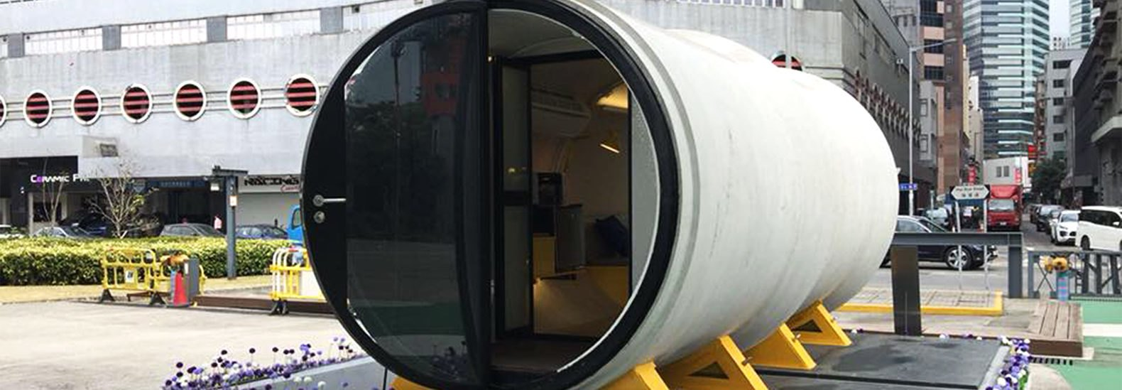 Tiny homes made of concrete pipes could be the next big thing in