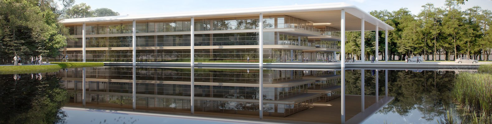 PGA TOUR headquarters by Foster + Partners, PGA TOUR headquarters, PGA TOUR global home, PGA TOUR Ponte Vedra Beach, LEED Gold PGA TOUR HQ, biophilic headquarter design, biophilic in LEED architecture, Foster + Partners LEED architecture