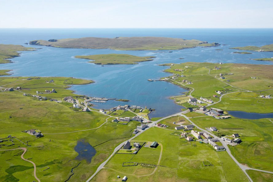 Private island, Shetland, Linga, island, islands, town