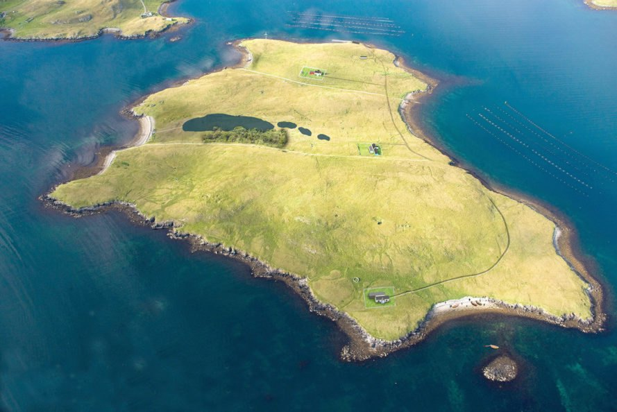 Private island, Shetland, Linga, island, islands, land
