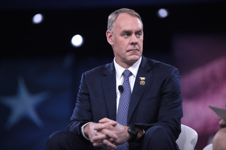 Ryan Zinke, Conservative Political Action Conference, Zinke, Congressman, Interior Secretary, Secretary of the Interior, politician