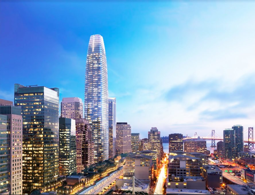 Salesforce Tower, Salesforce, San Francisco, Pelli Clarke Pelli Architects, tower, skyscraper, office, architecture