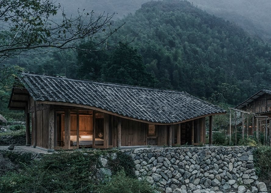 The Springingstream Guesthouse Mimics The Mountains Of