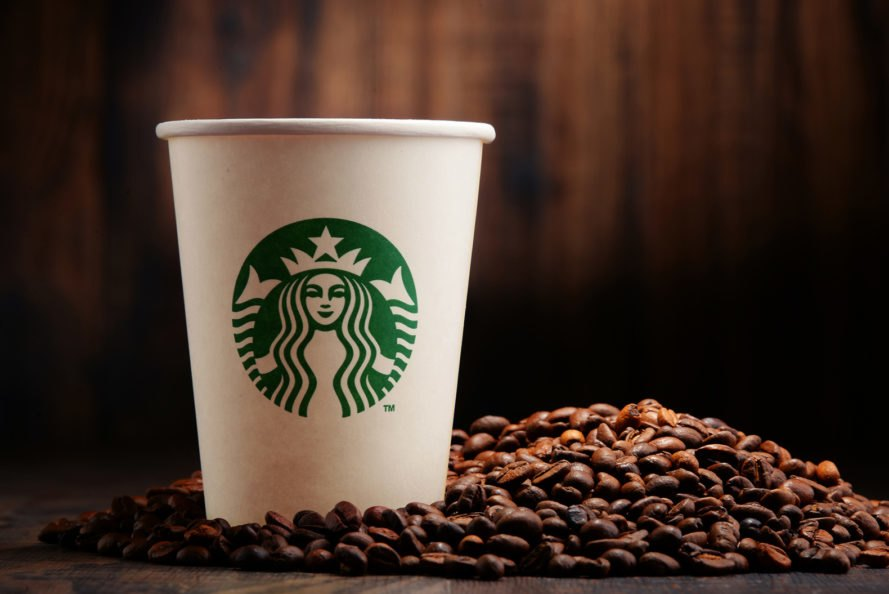 Starbucks, coffee, coffee beans, Starbucks cup, coffee cup, drink