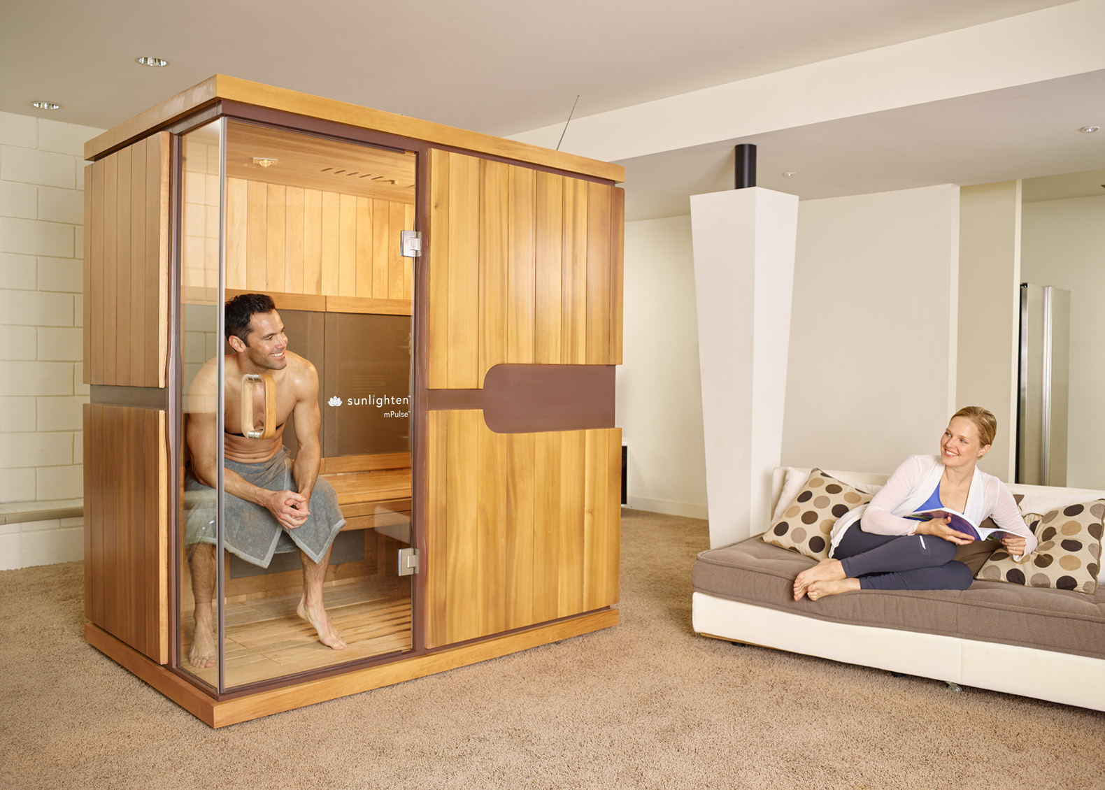 Sunlighten Saunas Use Infrared Therapy To Lower Blood