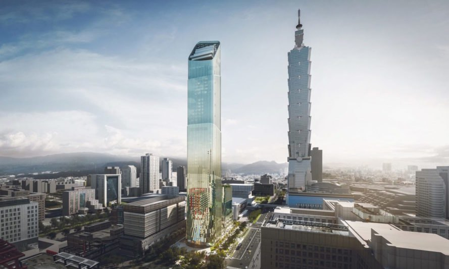Shimmering bamboo-shaped skyscraper to rise in Taipei