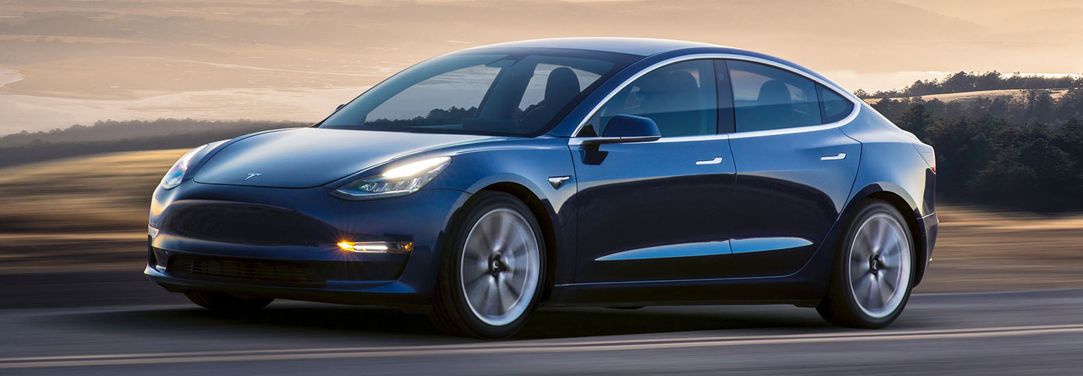 two men set tesla model 3 record by driving cross country
