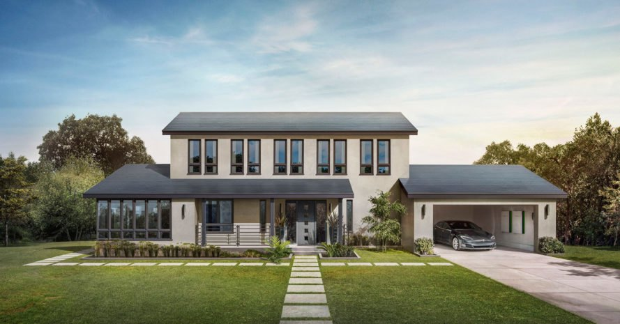 Tesla, Solar Roof, home, house, roof, roofing, glass