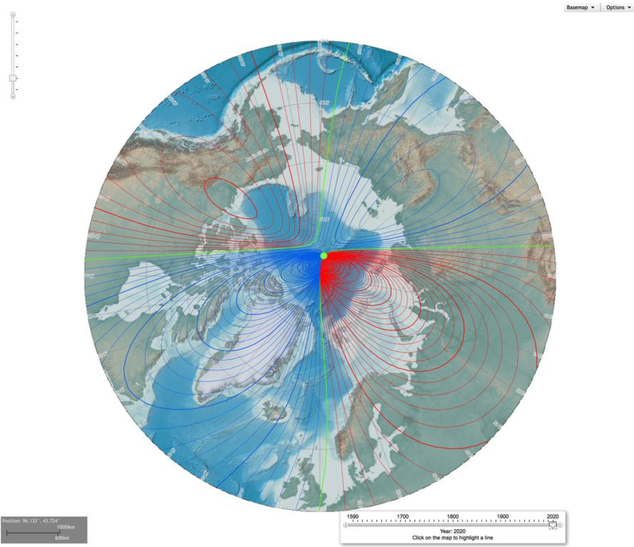 North Pole, South Pole, Earth's pole, magnetic pole, magnetic field, Earth's magnetic field, shifting poles, moving poles, poles flip, poles about to flip, what happens if the poles flip, magnetic field shift on Earth, Earth magnetic field