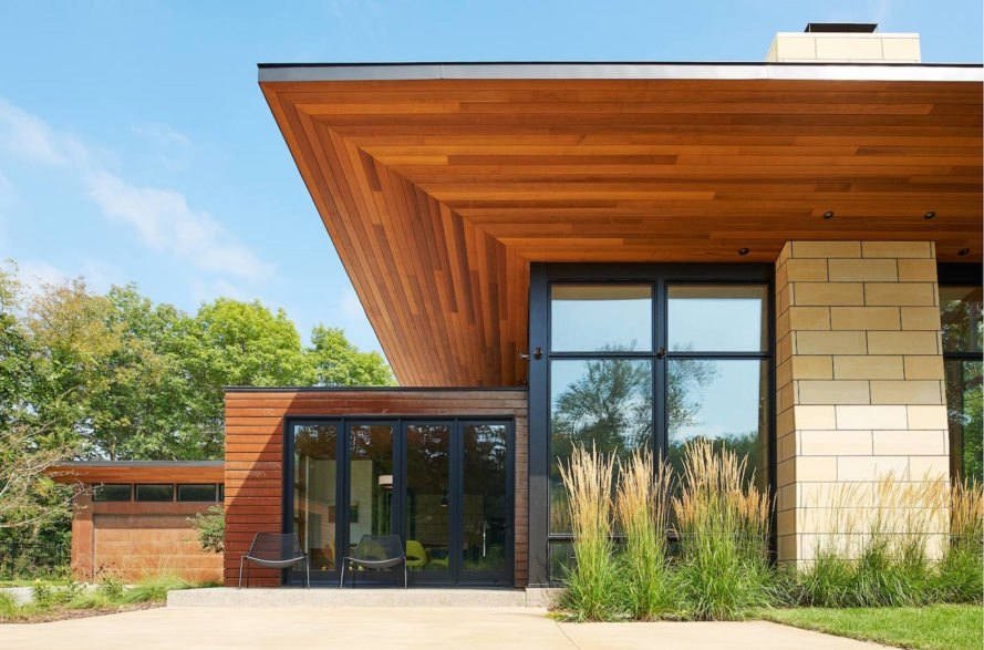 Theodore Wirth Ranch, Theodore Wirth Ranch by Strand Design, Theodore Wirth Ranch Minneapolis, modern ranch architecture, Strand Design, Strand Design Minneapolis, natural materials in a contemporary house